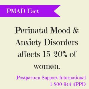 PMAD fact Postpartum Support International