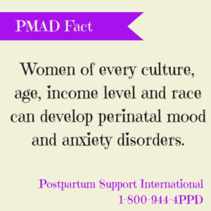 PPD anyone can suffer from PMAD