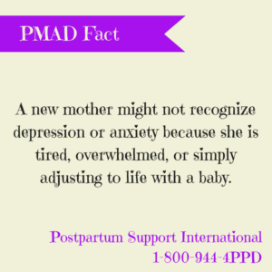 first time mom may be depressed