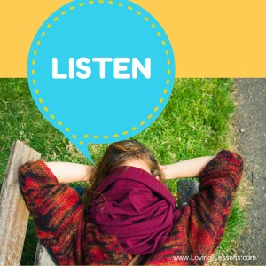 Listen Loving Lessons You Matter