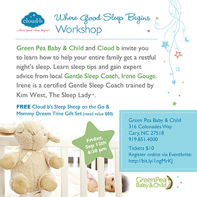 Loving Lesson GreenPea Baby GetSleep